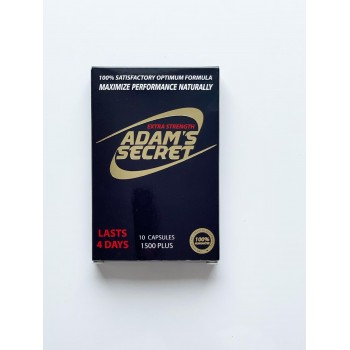Adams Secret Maximize Male Performance Naturally